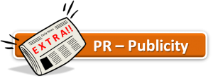 PR, publicity work shop for crowd funding.